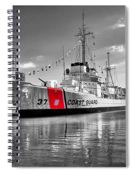 Coastguard Cutter Spiral Notebook
