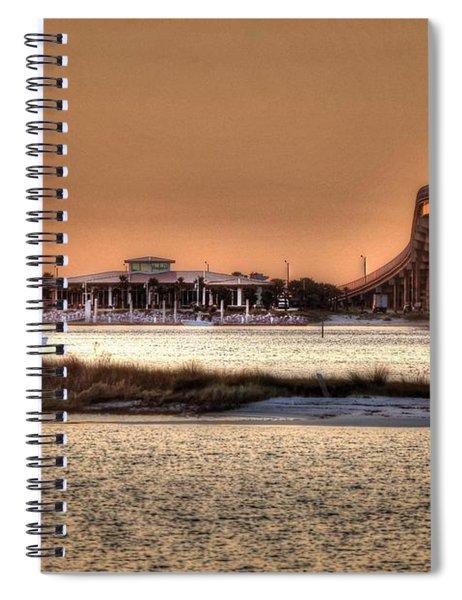 Cobalt And Bridge Spiral Notebook
