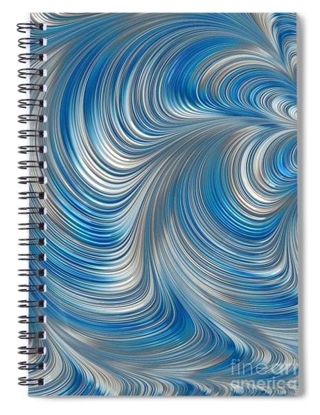 Cobolt Flow Spiral Notebook