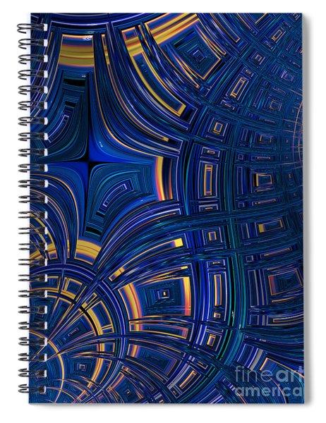 Cobolt Plates Spiral Notebook