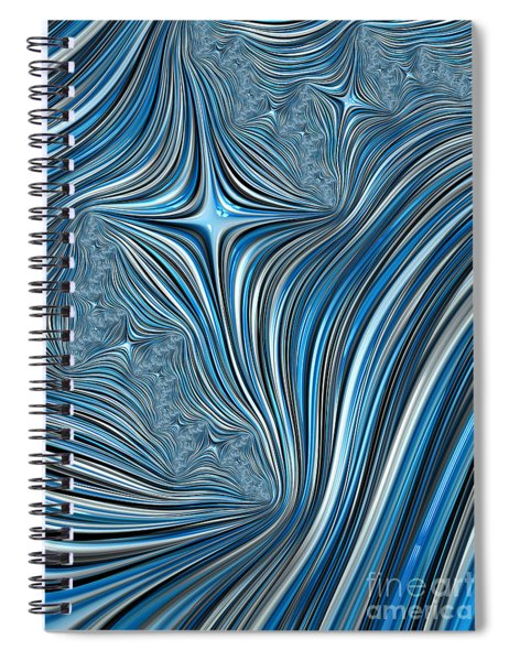 Cobolt Scream Spiral Notebook