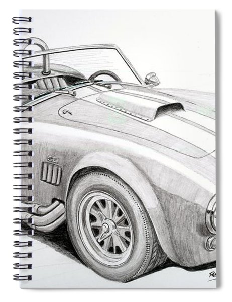 Ac Ford Cobra With 427  Spiral Notebook