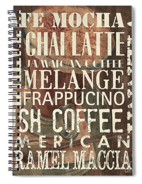 Coffee Of The Day 1 Spiral Notebook