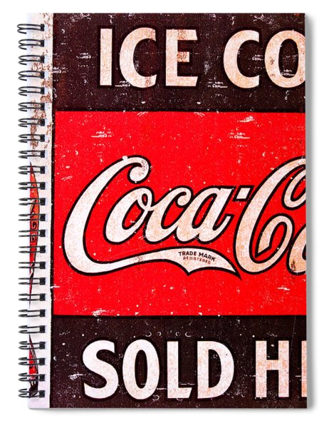 Coke Spiral Notebook
