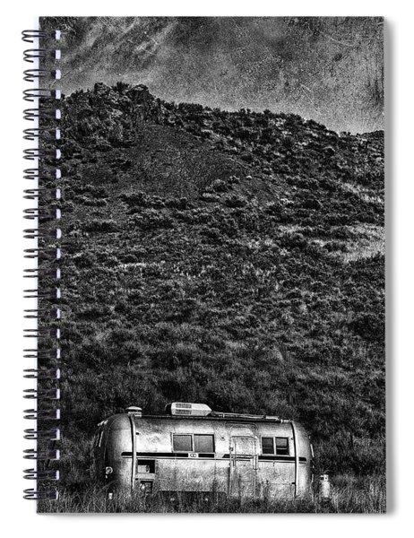 Cold Nights Under The Milky Way 1 Spiral Notebook
