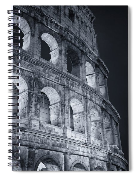 Colosseum Before Dawn Spiral Notebook