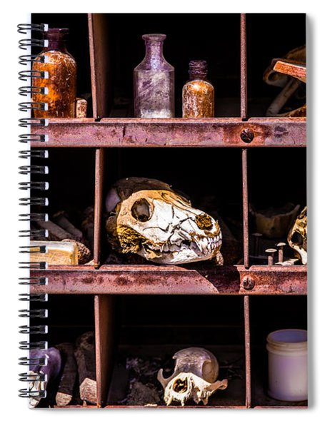 Collection At Techatticup Gold Mine Spiral Notebook