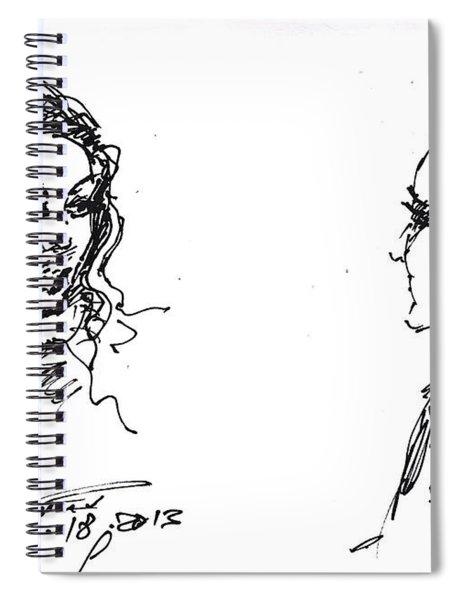 College Girls Spiral Notebook
