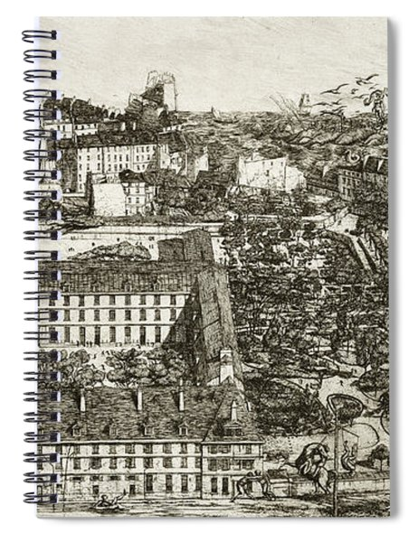 College Henri Iv And The Lycee Napoleon Spiral Notebook