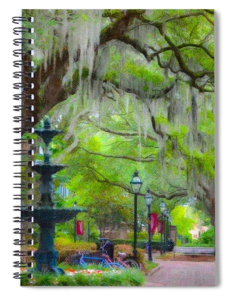 College Of Charleston Spiral Notebook