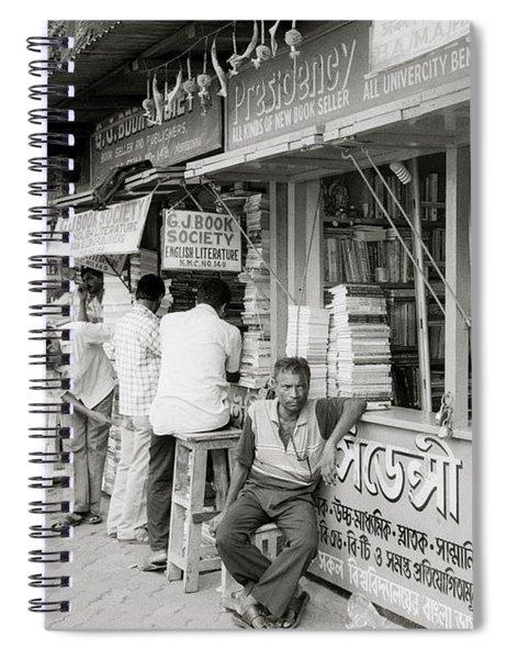 College Street Calcutta  Spiral Notebook