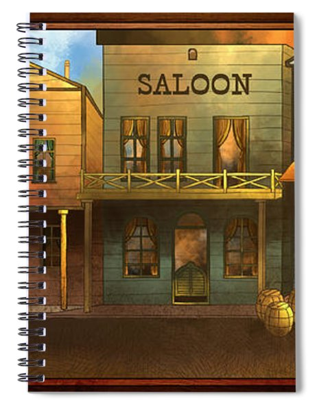 Coloma Spiral Notebook