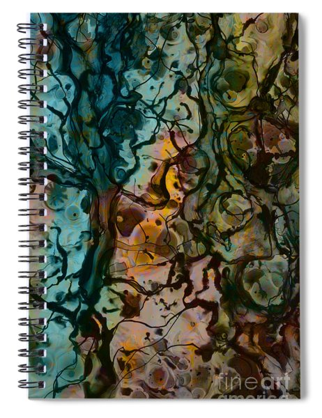 Color Abstraction Xvi Spiral Notebook
