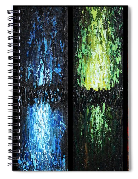 Color Panels 1 Spiral Notebook