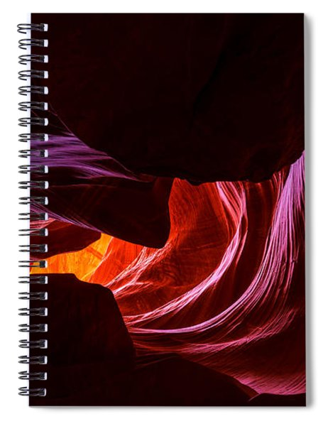 Color Ribbons Spiral Notebook