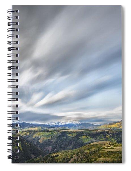 Colorado Garden Spiral Notebook