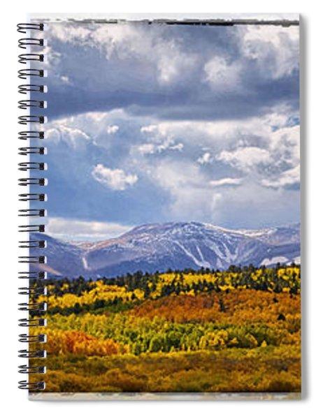Colorado Landscape Spiral Notebook
