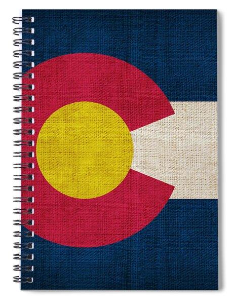 Colorado State Flag Spiral Notebook