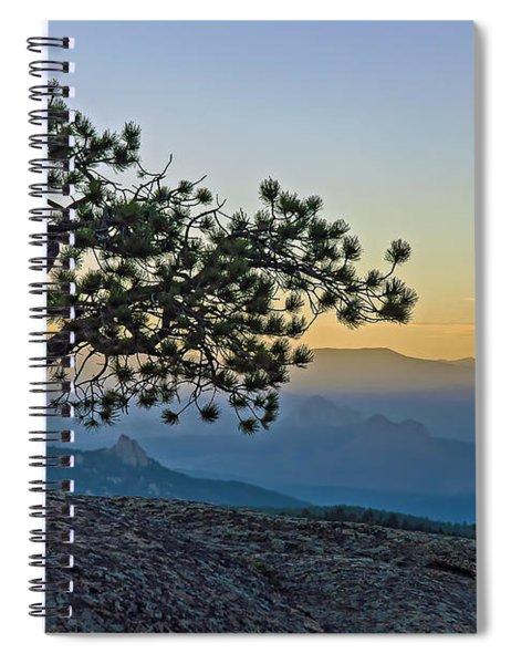 Colorado Sunset Spiral Notebook