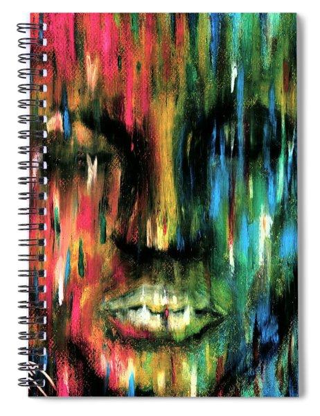 Colorblind Spiral Notebook