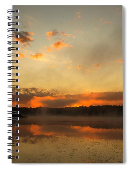 Colored Clouds Spiral Notebook