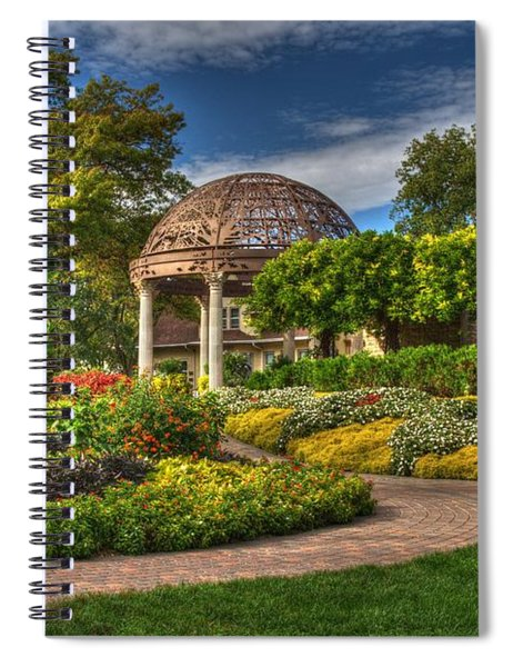 Colorful Garden Spiral Notebook