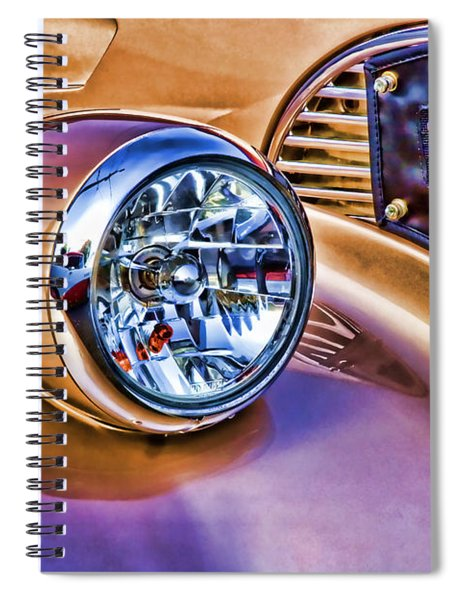 Colorful Hotrod Spiral Notebook