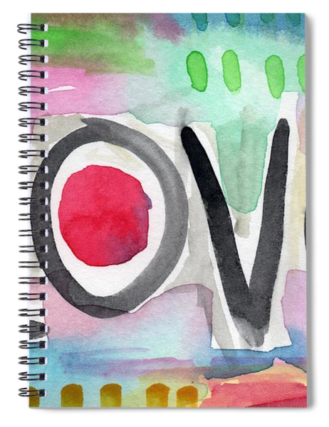 Colorful Love- Painting Spiral Notebook