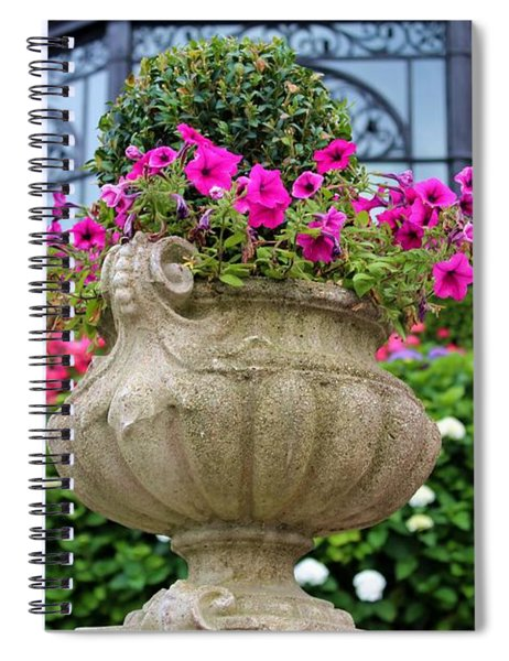 Colorful Outdoor By Julia Fine Art Spiral Notebook