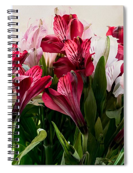 Colorful Peruvian Lillys Spiral Notebook