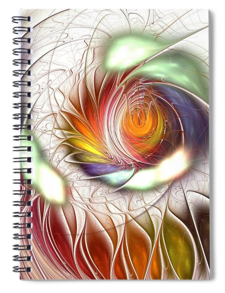 Colorful Promenade Spiral Notebook