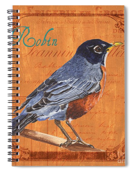 Colorful Songbirds 2 Spiral Notebook