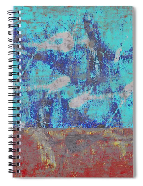 Colorful Walls Square Number 1 Spiral Notebook