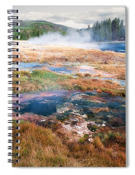 Colorful Waters Spiral Notebook