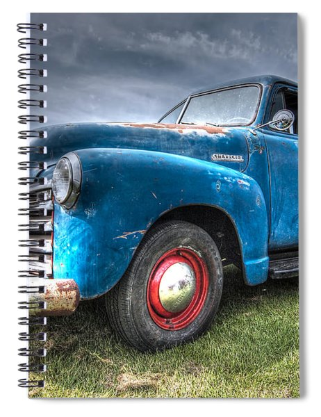 Colorful Workhorse - 1953 Chevy Truck Spiral Notebook