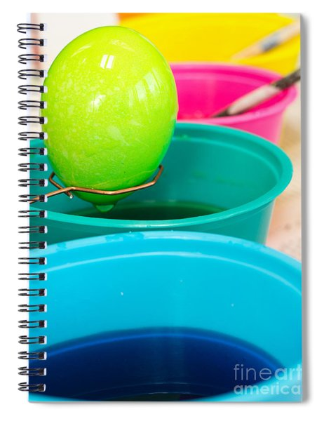 Coloring Easter Eggs Spiral Notebook