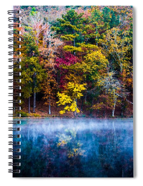 Colors In Early Morning Fog Spiral Notebook