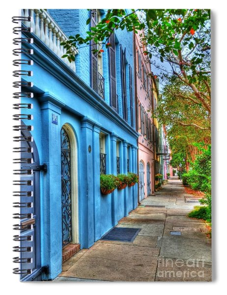 Colors Of Charleston 4 Spiral Notebook