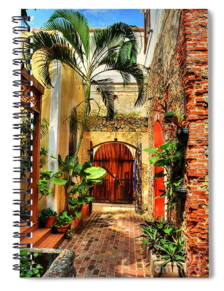 Spiral Notebook featuring the photograph Colors Of Saint Thomas 1 by Mel Steinhauer