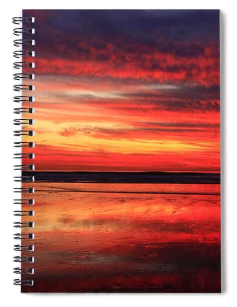 Encinitas Twilight Tide Spiral Notebook