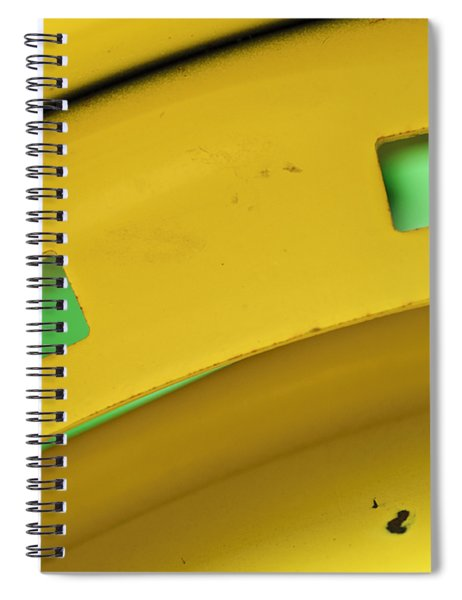 Colors On A Curve Spiral Notebook