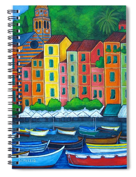 Colours Of Portofino Spiral Notebook