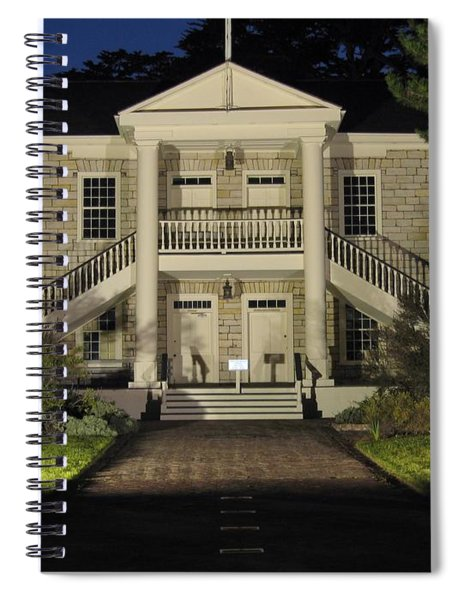Colton Hall At Night Spiral Notebook