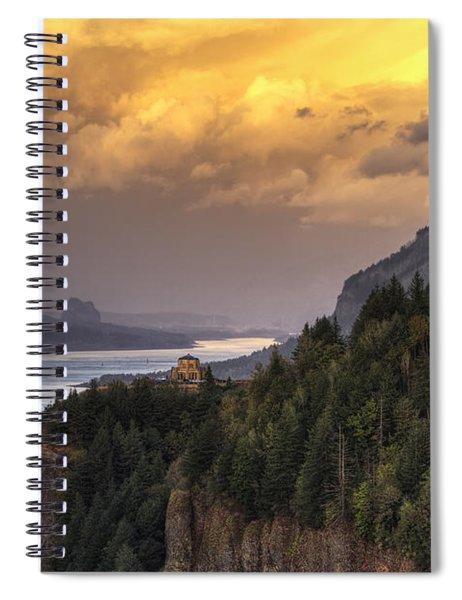 Columbia River Gorge Vista Spiral Notebook