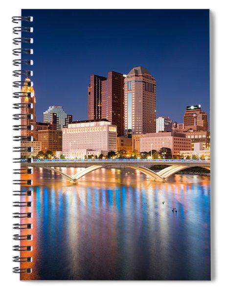 Columbus Ohio Spiral Notebook