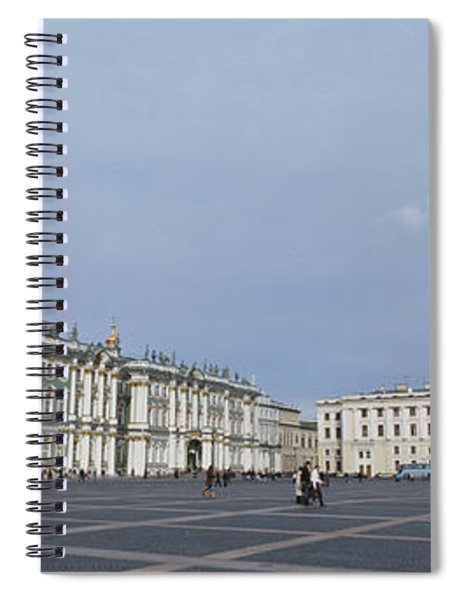 Column In Front Of A Museum, State Spiral Notebook