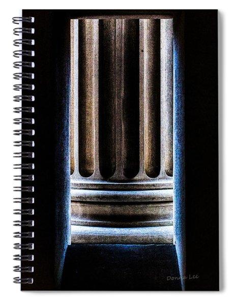 Column Number Nine  Spiral Notebook