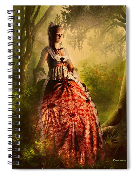 Come To Me In The Moonlight Spiral Notebook
