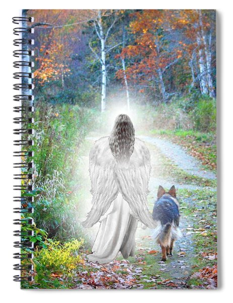 Come Walk With Me Spiral Notebook