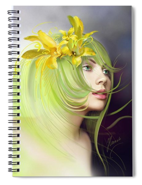 Coming Of Spring Spiral Notebook